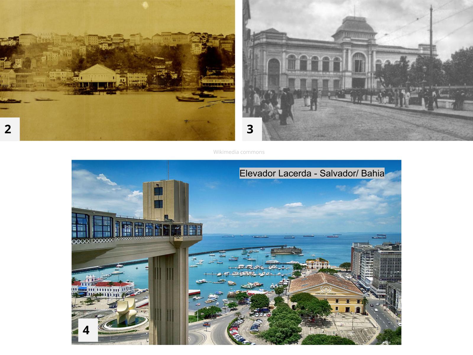 As cidades - mudanças e permanências ao longo dos tempos