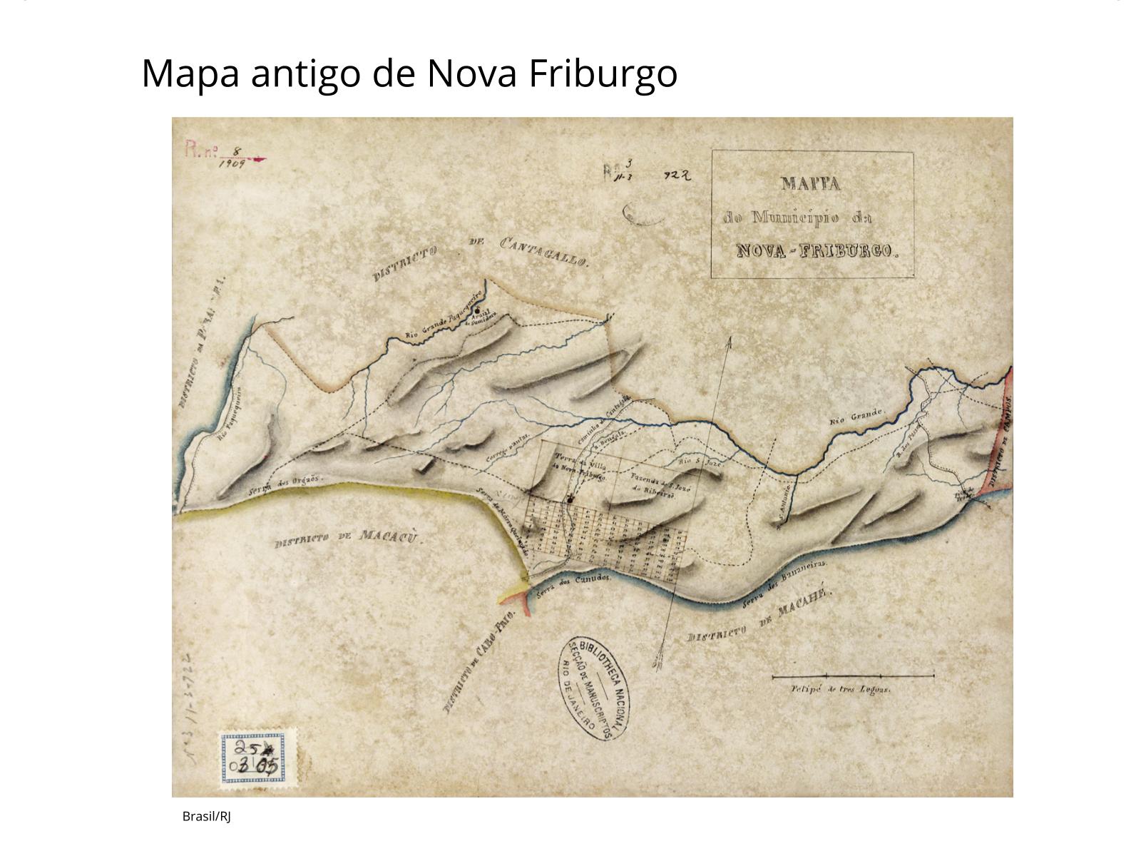 Imigração durante o século XIX: o surgimento de Nova Friburgo.