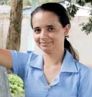 Márcia Pereira de Souza, professora. Foto: Leandro Nunes