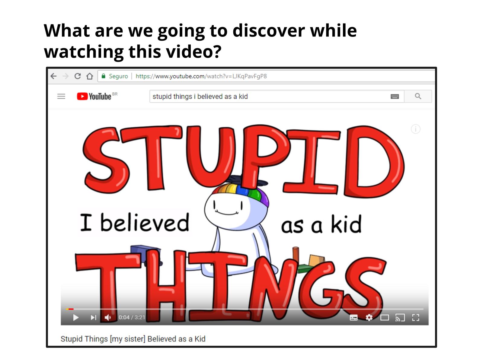 Crenças da infância