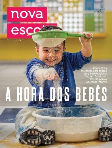 Capa da edição de agosto da nova escola