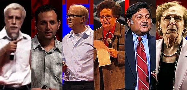 Palestrantes do TED. Imagem: divulgação