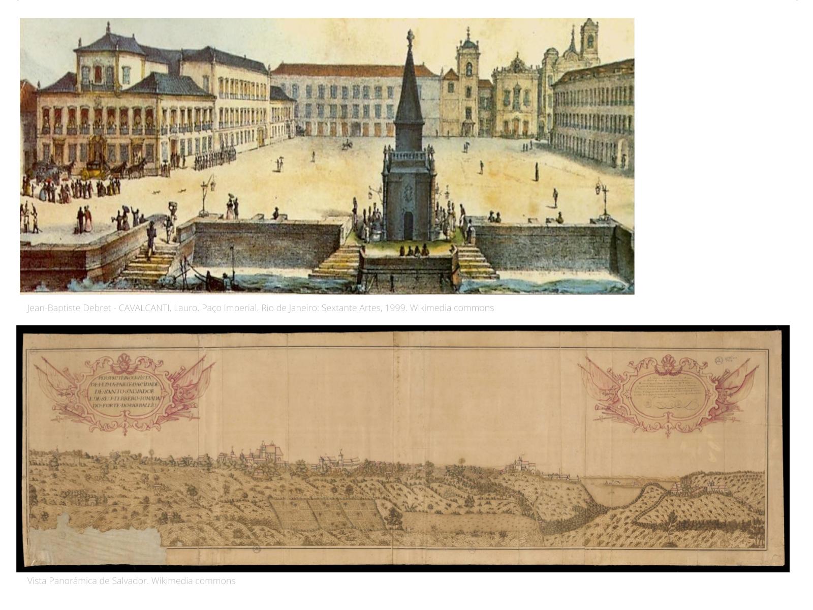 As primeiras cidades brasileiras