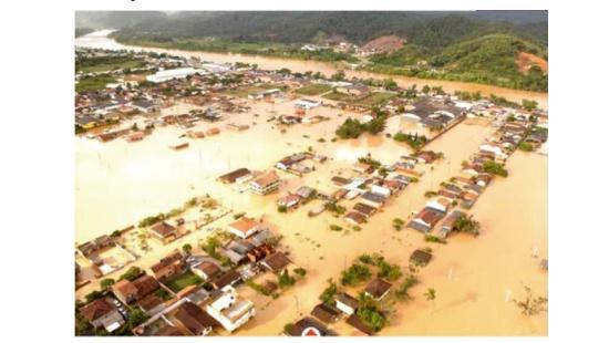 Os efeitos da expansão urbana na ocorrência de inundações