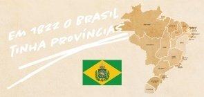 PDF para baixar: Comparando o mapa atual do Brasil com o do Primeiro Reinado