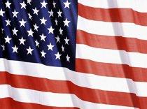 A bandeira dos Estados Unidos da América. Foto: Omar Paixão