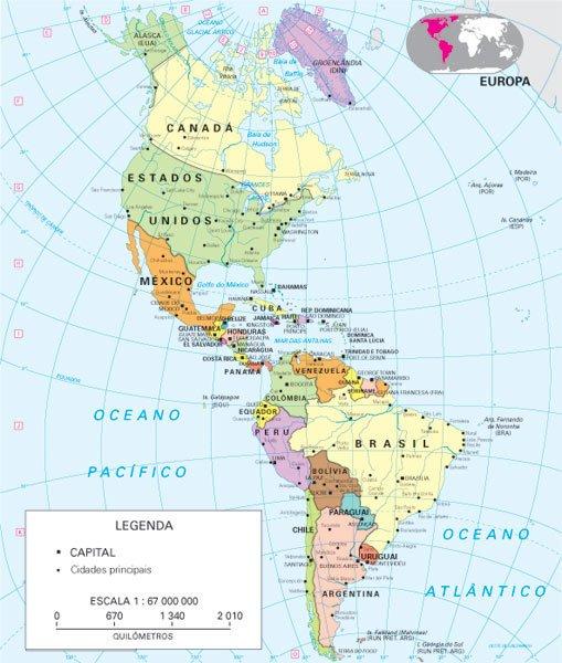 Os elementos que compoem um mapa