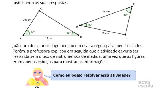 Resolver Problemas Usando Congruência de Triângulos