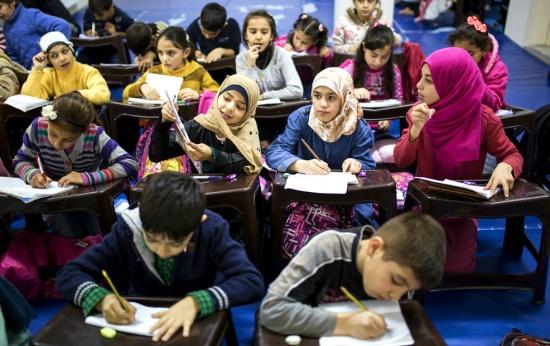 Como o ensino é importante para que refugiados tenham chances futuras de reassentamento