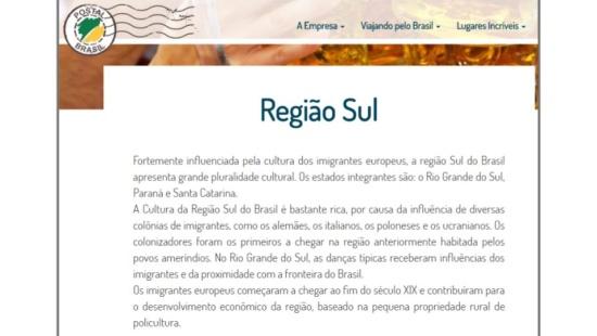 Cultura no Brasil: a Região Sul