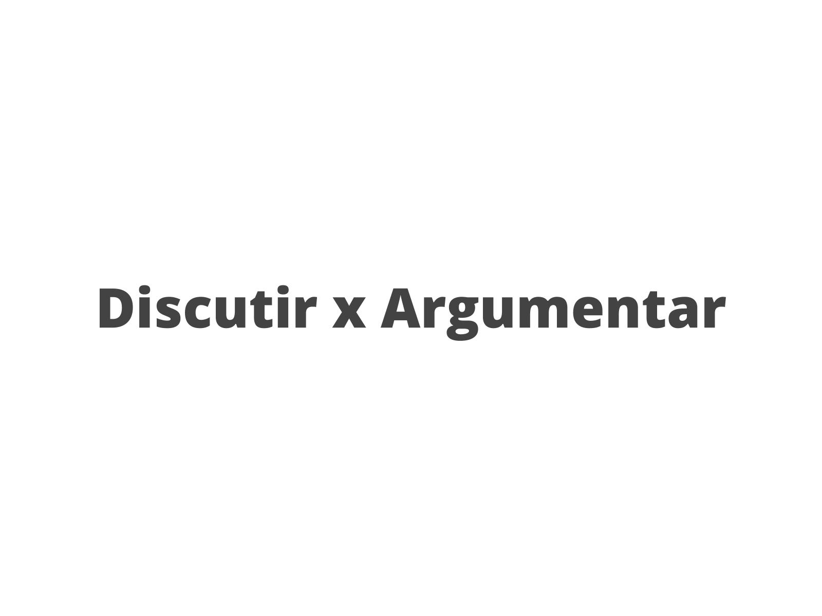 Reconhecendo os diferentes tipos de argumentos em textos de opinião