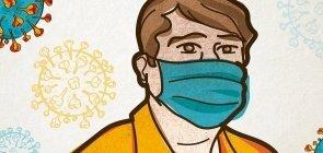 Como abordar coronavírus na sala de aula. Ilustração
