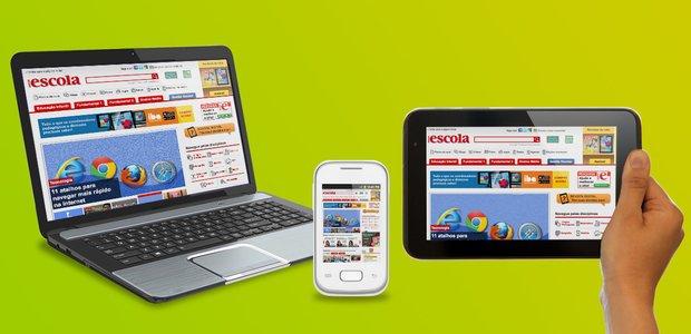Qual a diferença entre PC, smartphone e tablet? Blog de Tecnologia. Crédito: Vilmar Oliveira/Editoria de Arte