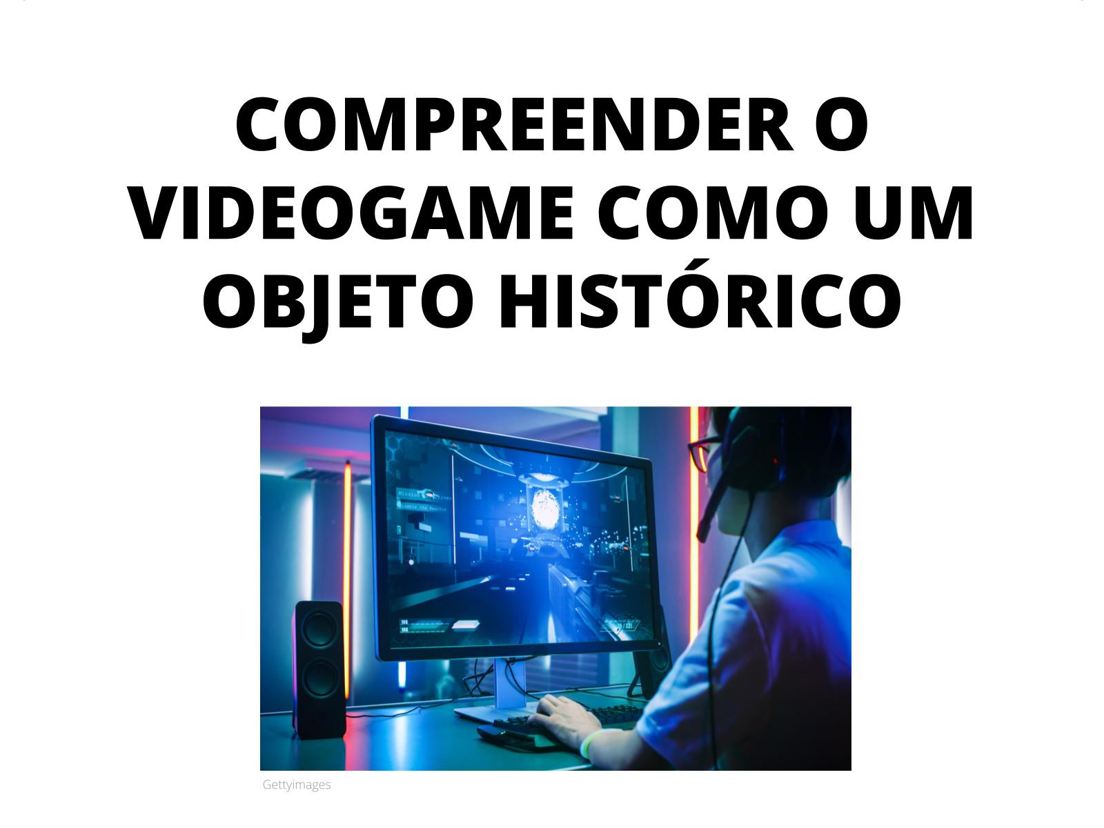Brincando de videogame