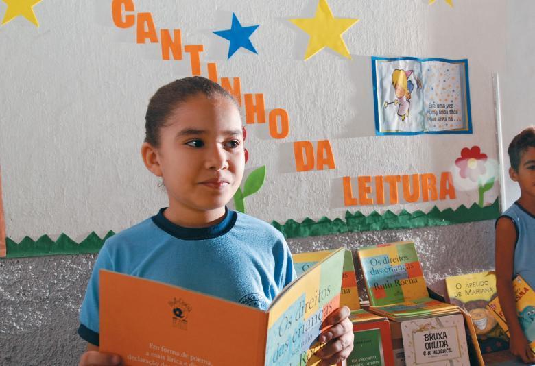 Apoio privado: parceria para capacitar de professores em Língua Portuguesa ajudou a elevar o Ideb da EE Anita Gayoso, em Teresina. Foto: Edi Vasconcelos