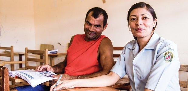 Os desafios para garantir o direito de estudar a adultos e adolescentes em conflito com a lei. Foto: Janduari Simões