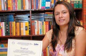 ESFORÇO PESSOAL Para se especializar, Micele arcou com todos os custos do curso de gestão. Foto: Ademilde Correia