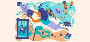 Fanfics: Mergulho em um mar de imaginações
