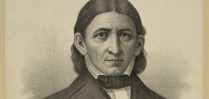 Retrato desenhado de Frederick Froebel