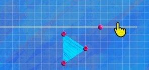 Tela de jogo geométrico
