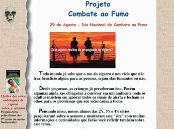 PRODUÇÃO NA WEB Projeto de site dos alunos do Colégio Joana D?Arc, em São Paulo, é focado no conteúdo curricular. Foto: Reprodução