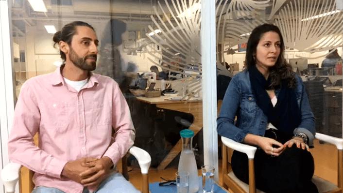 Bruno Cavalcante e Barbara Dias em entrevista à Nova Escola