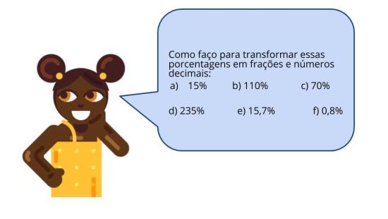 Porcentagens de acréscimo e desconto