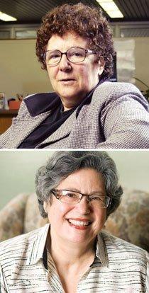 Bernardete Gatti e Vera Maria Nigro de Souza Placco. Fotos: Rodrigo Erib e Marina Piedade