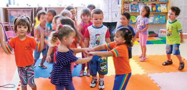 Se o corre-corre das crianças na Educação Infantil incomoda os professores, vale enfatizar a importância do movimento. Foto: Marcelo Almeida