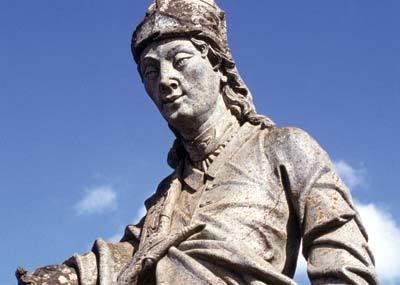 Profeta Amos, escultura de Aleijadinho. Foto: Carol do Valle