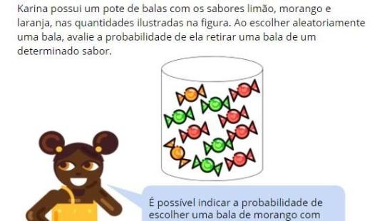 Representando probabilidade com frações