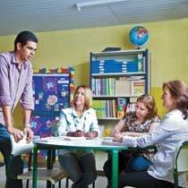 Decisões administrativas a favor da aprendizagem. Foto: Raoni Madalena