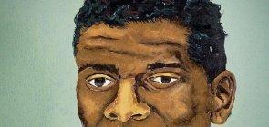 Imagem de representação em desenho dos olhos de Lima Barreto