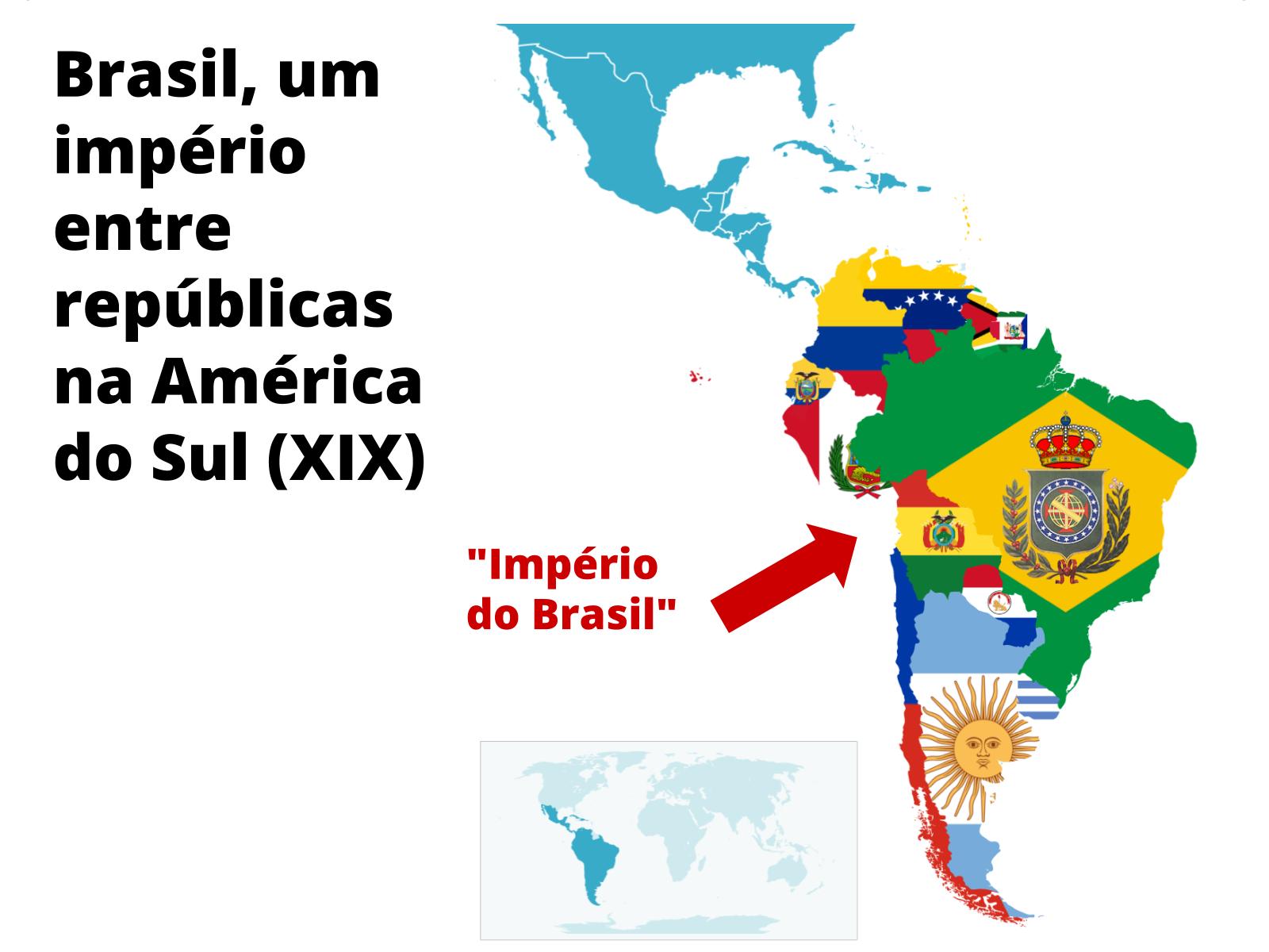 Monarquia e unidade territorial do Brasil na Independência