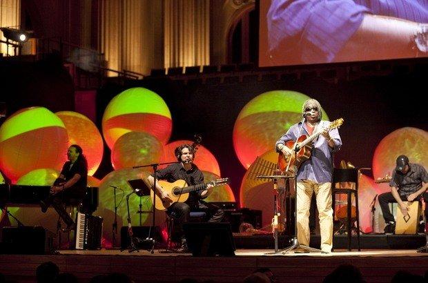 Milton Nascimento emocionou a plateia na Sala São Paulo