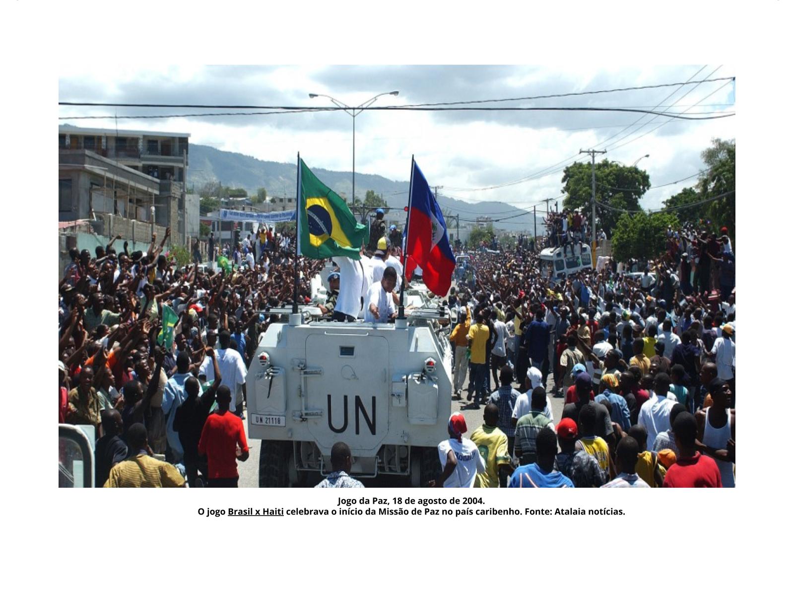 O Haiti e a busca por liberdade ontem e hoje