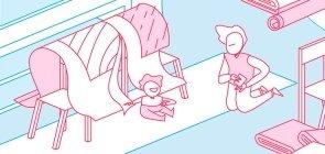 Atividade: ajude a família a montar percursos para bebês