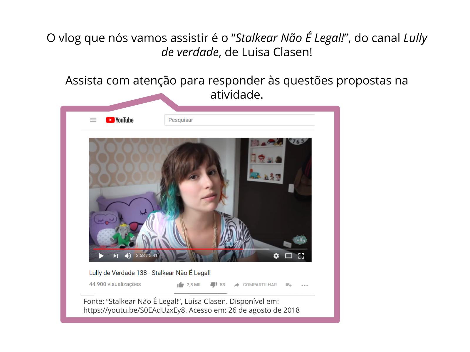 Vlog como corpus para identificação de estrangeirismos incorporados ao léxico da língua portuguesa