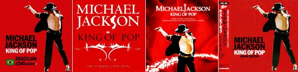 Coletânea King of Pop de Michael Jackson. Fotos: Divulgação