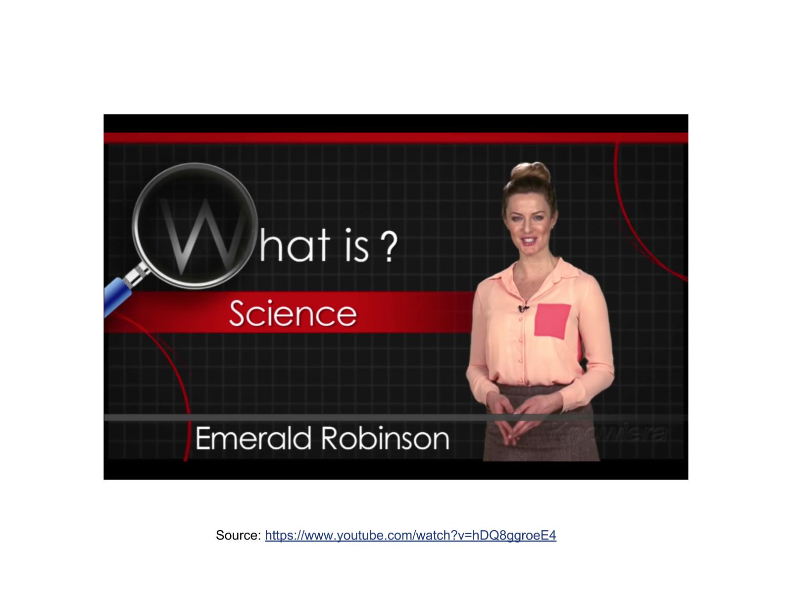 Discussão e ampliação do conceito de ciência