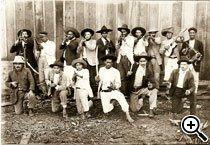 1911 - Guerra do Contestado (Paraná e Santa Catarina). Foto: Reprodução