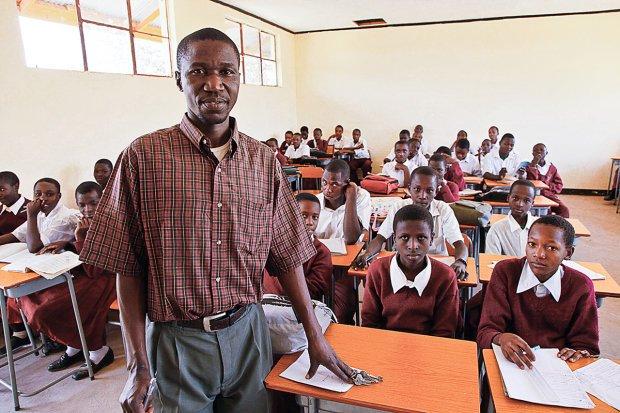 Escola em Gana. Foto: Caio Vilela