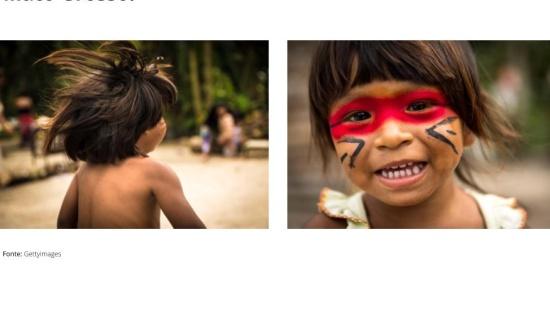 Como vivem as crianças indígenas no Parque do Xingu