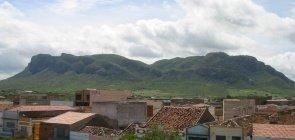 Vista da Serra Talhada em Pernambuco a partir do município