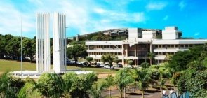 Foto do campus da UFMS