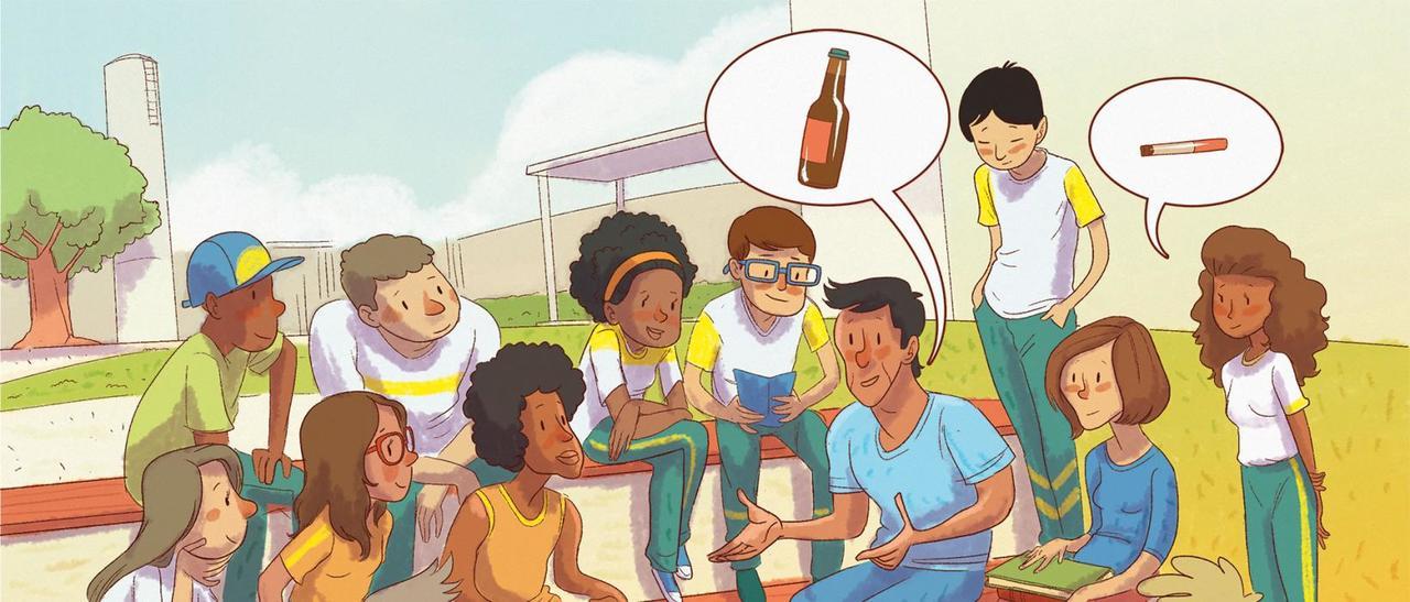 Para prevenir o uso de drogas, debate franco e sem preconceito