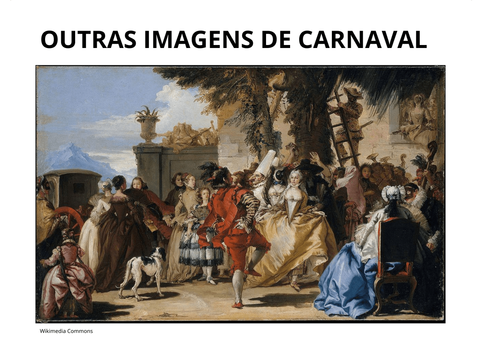 Origens do Carnaval