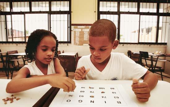 O sistema de numeração e a criança pequena