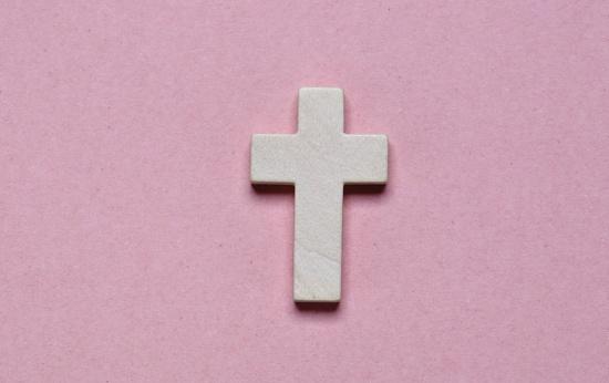 Foto de um crucifixo