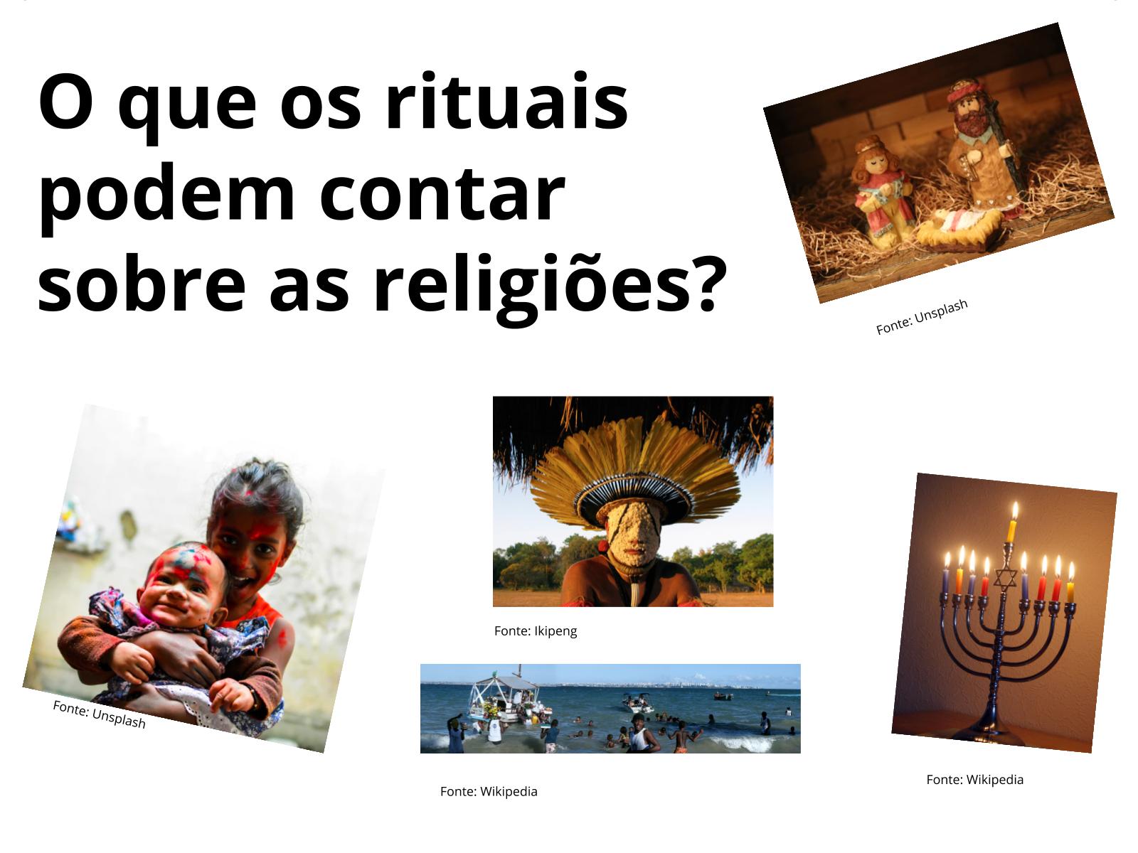 Os rituais religiosos e identidade dos povos